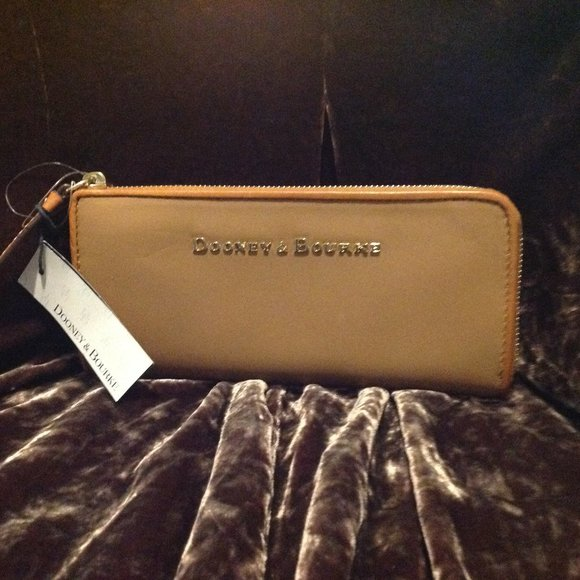 Camel Dooney & Bourke Wallet